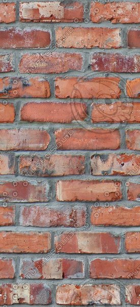 BR109 reclaimed red bricks texture