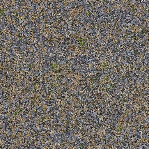 G225 tarmac overgrown grassy