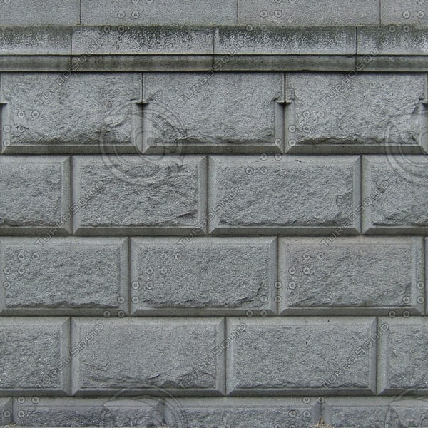 W327 beveled blocks wall