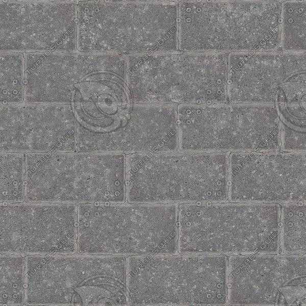 G346 concrete brick paving texture