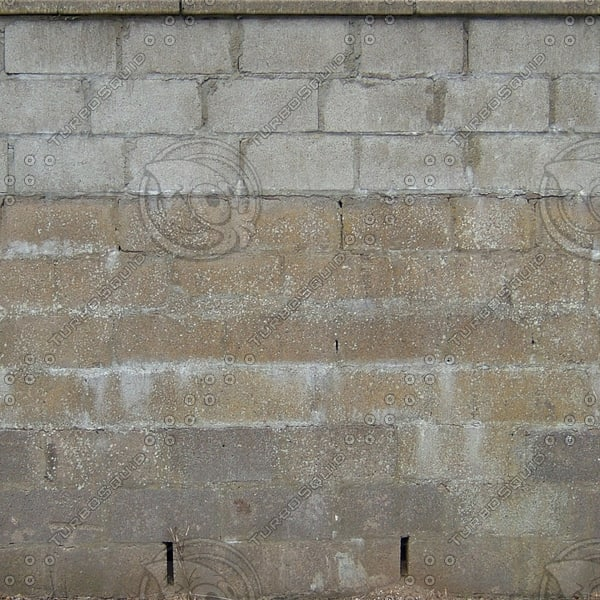 W406 old concrete blocks wall texture