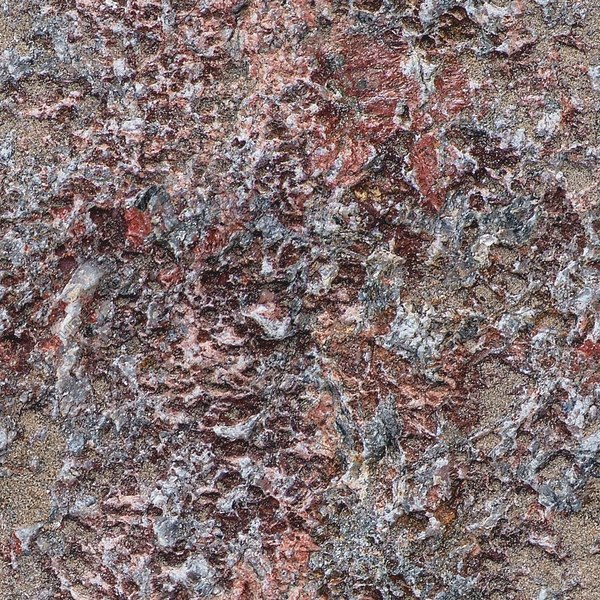RS053 sandy red granite rock texture