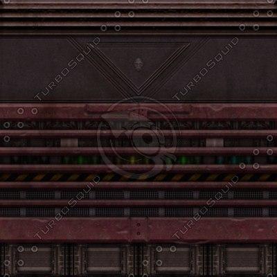 SF052 sci-fi fantasy wall texture