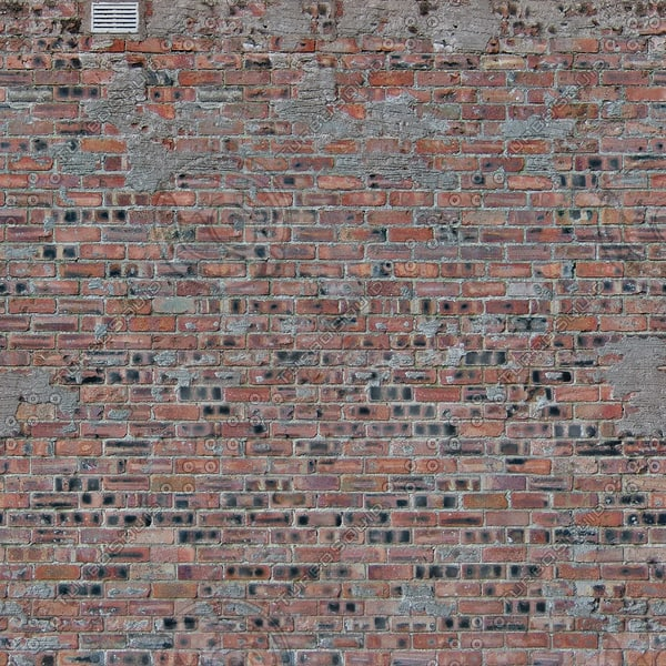 W354 distressed brick wall texture