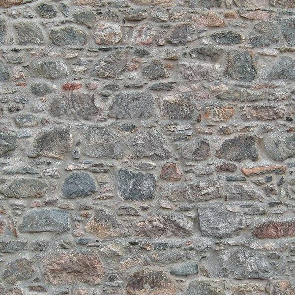 WTX015 stone wall texture