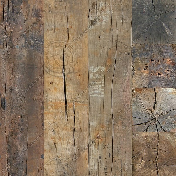 wooden post beam plank