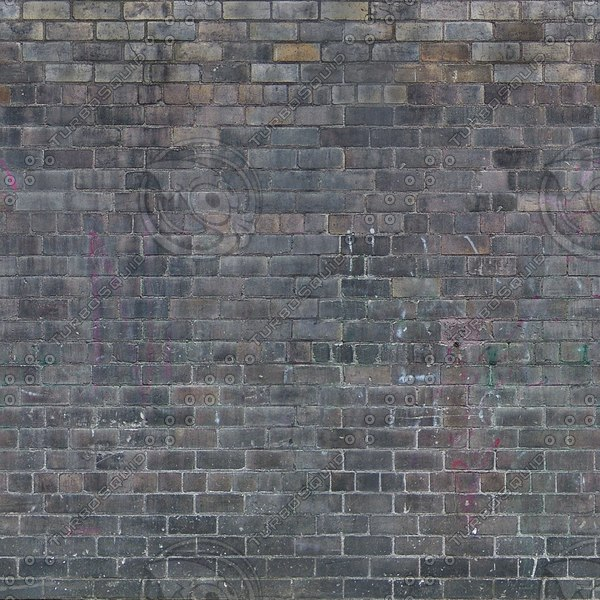 Wall282 weathered dark brick wall 1024