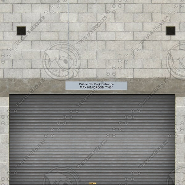 W081 car park entrance