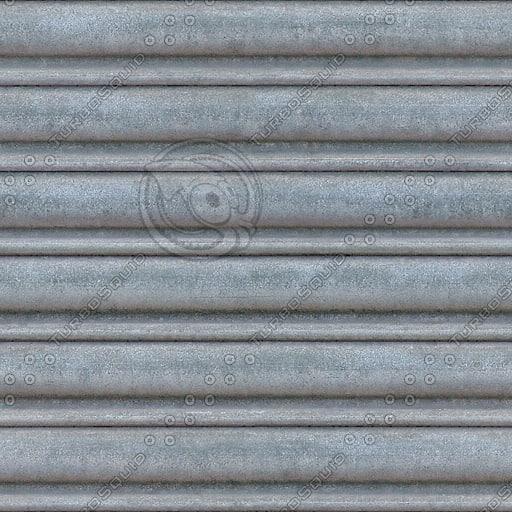 M046 metal roller door high detail