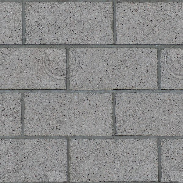 BL150 cinder blocks wall texture
