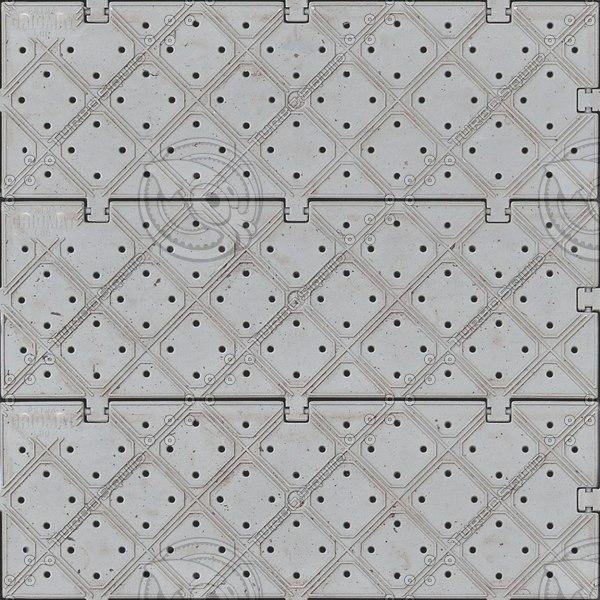 G357 gridmat floor tiles texture