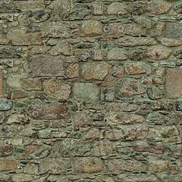 UPW06 stone wall blocks