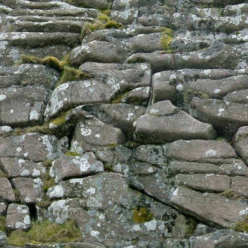 RS078 rockface cliff wall