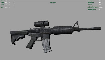 M4 gun midpoly version