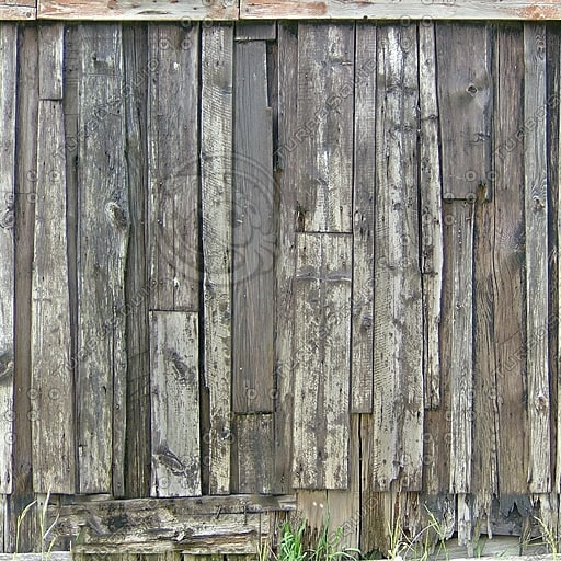 W303 wood wall old