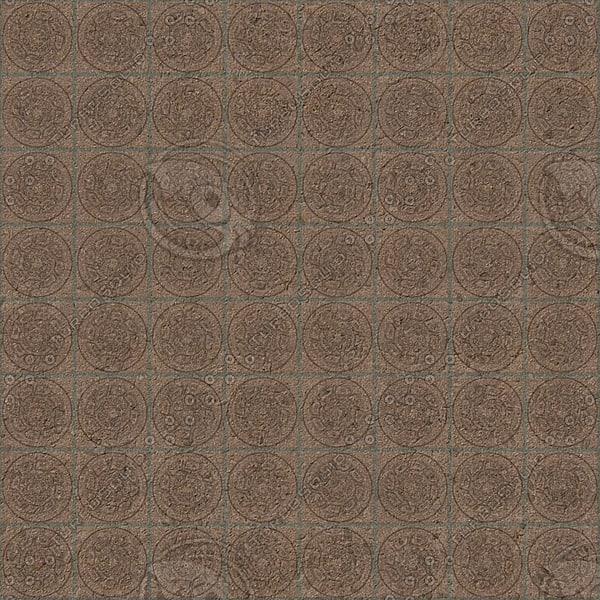 FL020 brown floor tiles texture