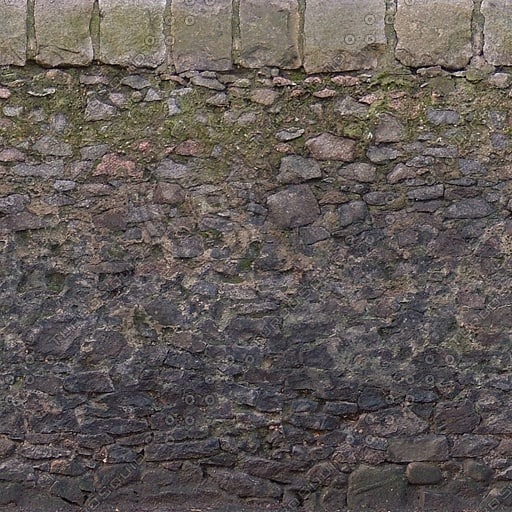 W370 dirty stone wall texture