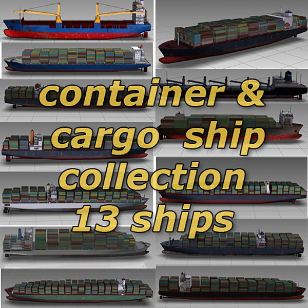 container ship collection
