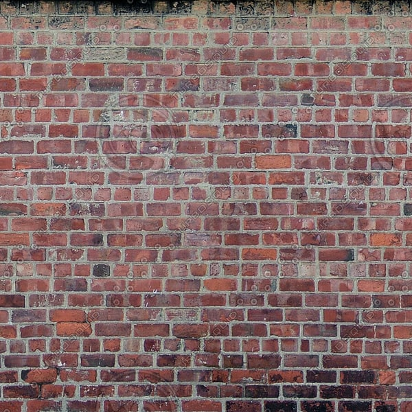 W153 red brick wall texture