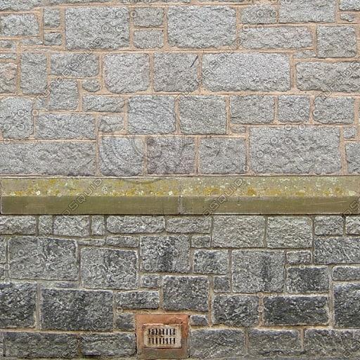 W340 stone wall church texture
