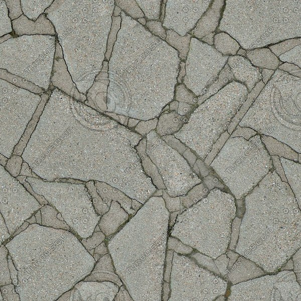 G110 crazy paving slabs texture