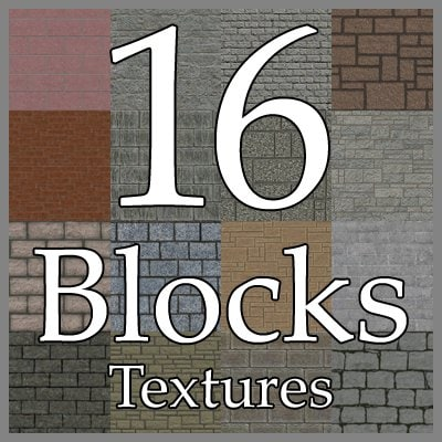 UPCB16 stone wall texture collection