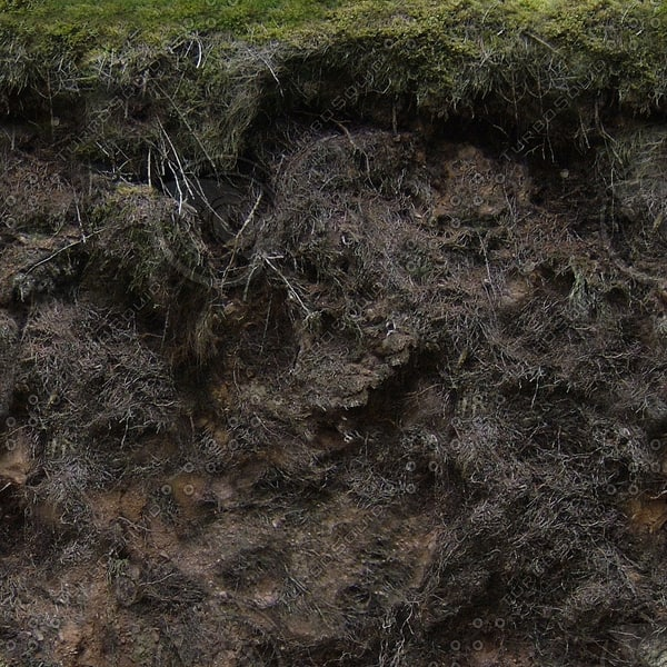 G112 trench walls embankment texture