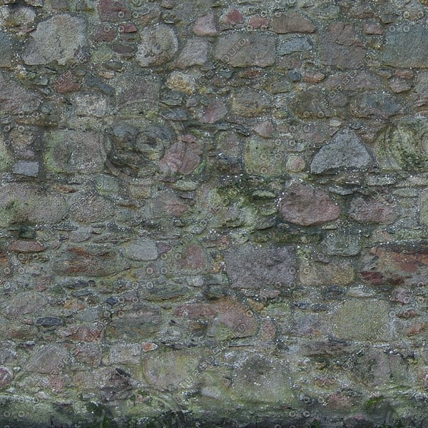 W369 old stone wall texture