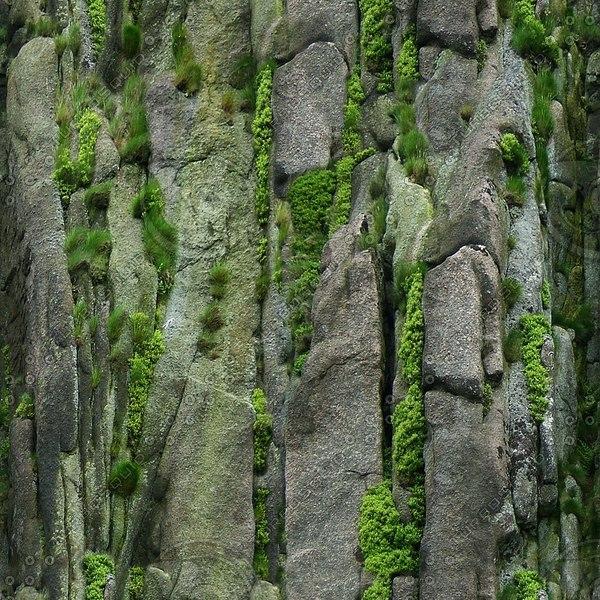 RS063 rock face cliffs