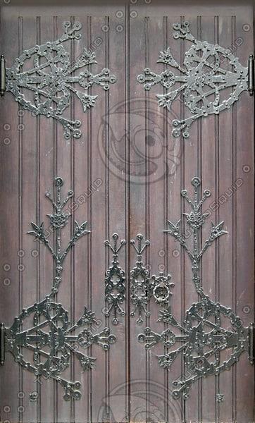 D154 wooden door texture