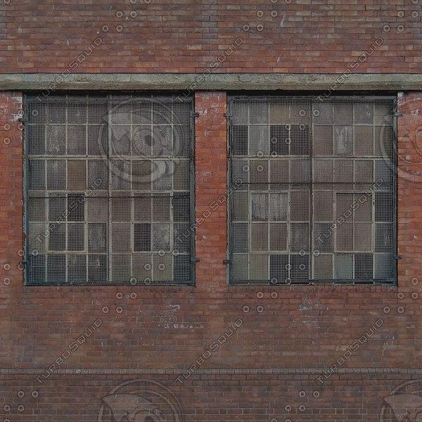 W426 brick wall facade texture