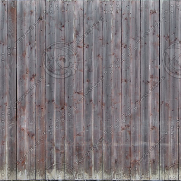 F029 wooden fence wall