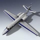 3d corporate jet