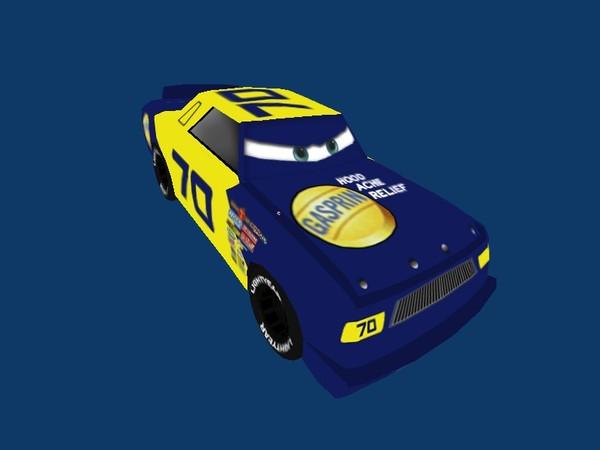 gasprin car 3d model