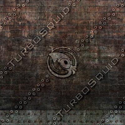 Dark industrial bricks