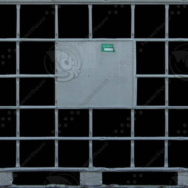 MSC016 metal container cage