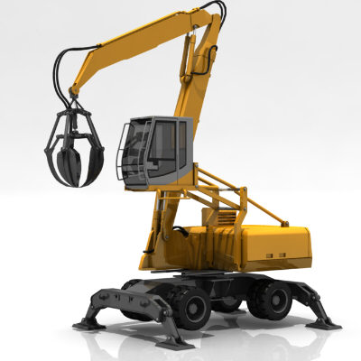 excavator digger bagger