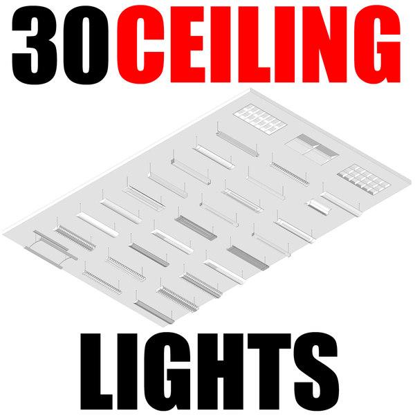 30 Ceiling Lights