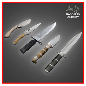 Dagger combat knives PACK