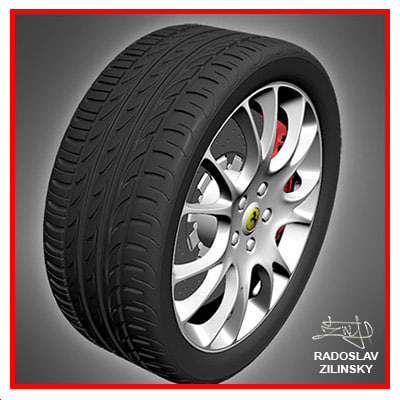 car WHEEL pirelli zero nero TIRE