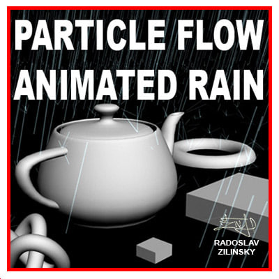 RAIN particle system (animated)