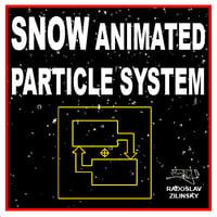 snow particle 3d model
