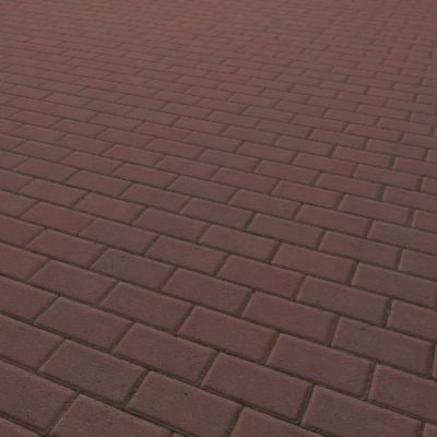 G007 red brick paving sidewalk