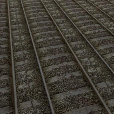 G150 railroad  tracks texture