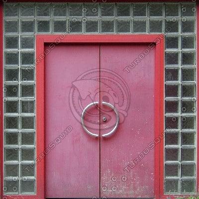 D57 red double doors texture