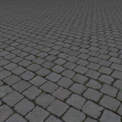 G071 mossy brick paving texture SRF