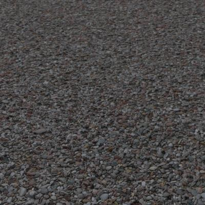 G055 shingle beach pebbles SRF