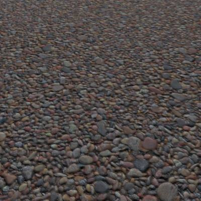 G295 shingle beach pebbles SRF