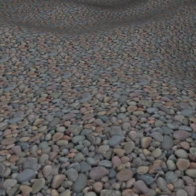G416 shingle beach pebbles SRF