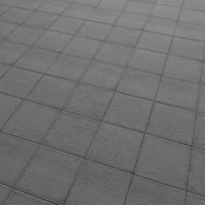 G074 sidewalk pavement paving slabs SRF
